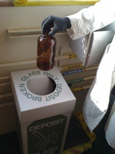 Always dispose of your waste properly!