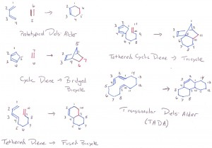 Diels-Alder Reaction Examples