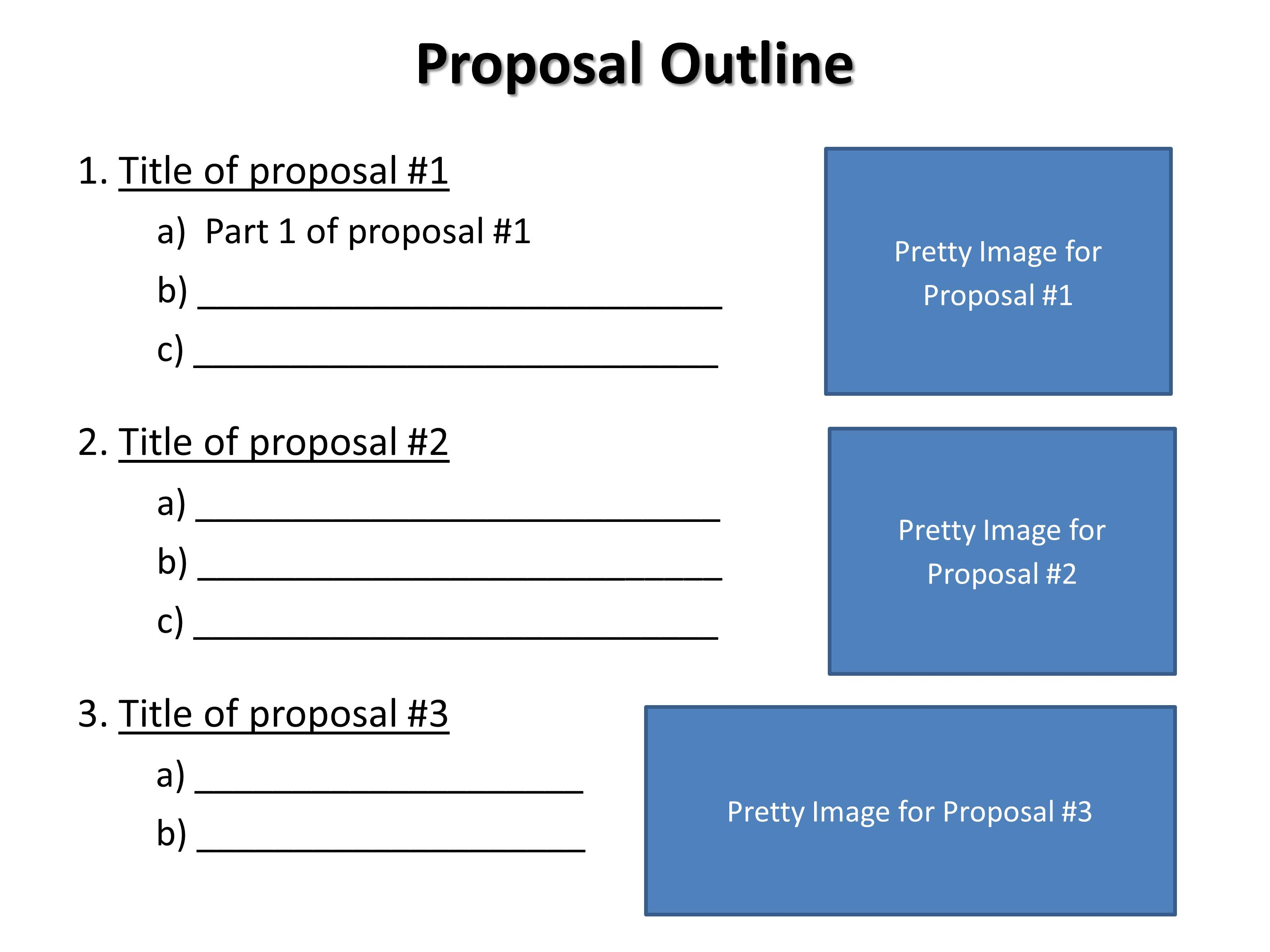 Outline for phd research proposal