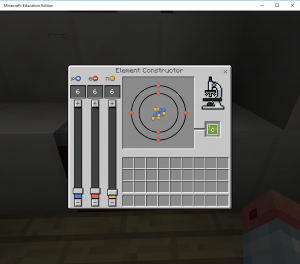 Chemistry comes to Minecraft